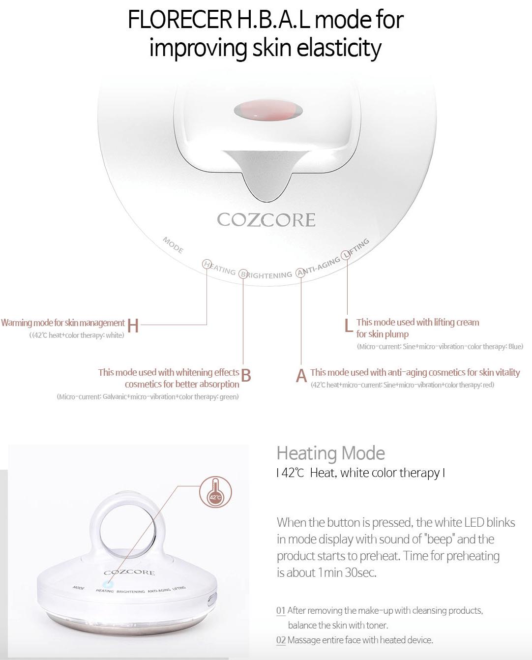 FLORECER Galvanic skincare device 10