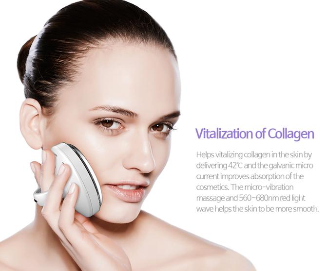 FLORECER Galvanic skincare device 12