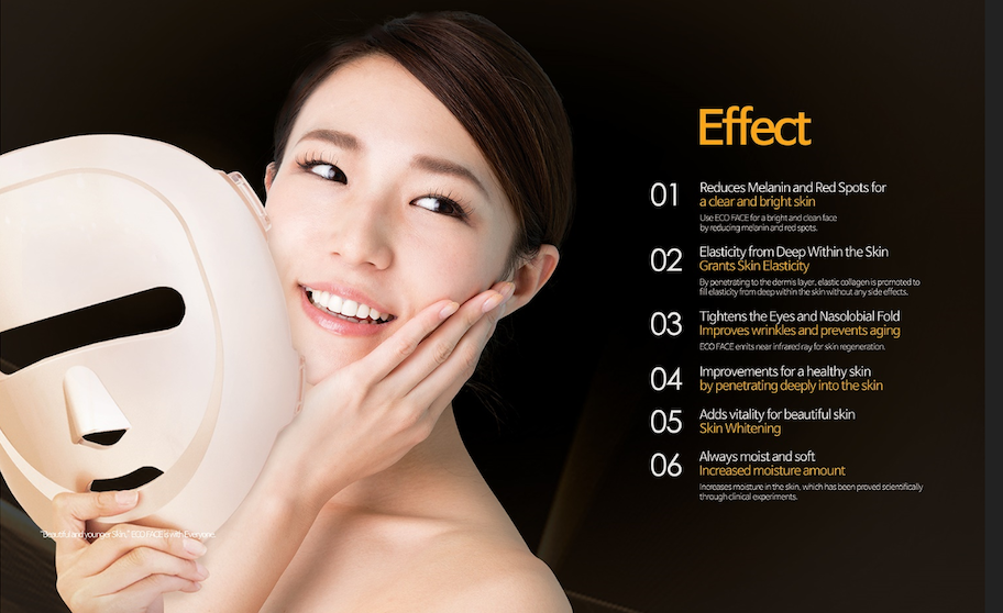 ECO FACE LED light Mask 18