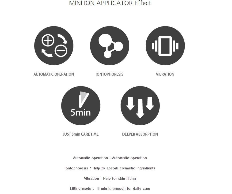 POBLING mini ion applicator 10