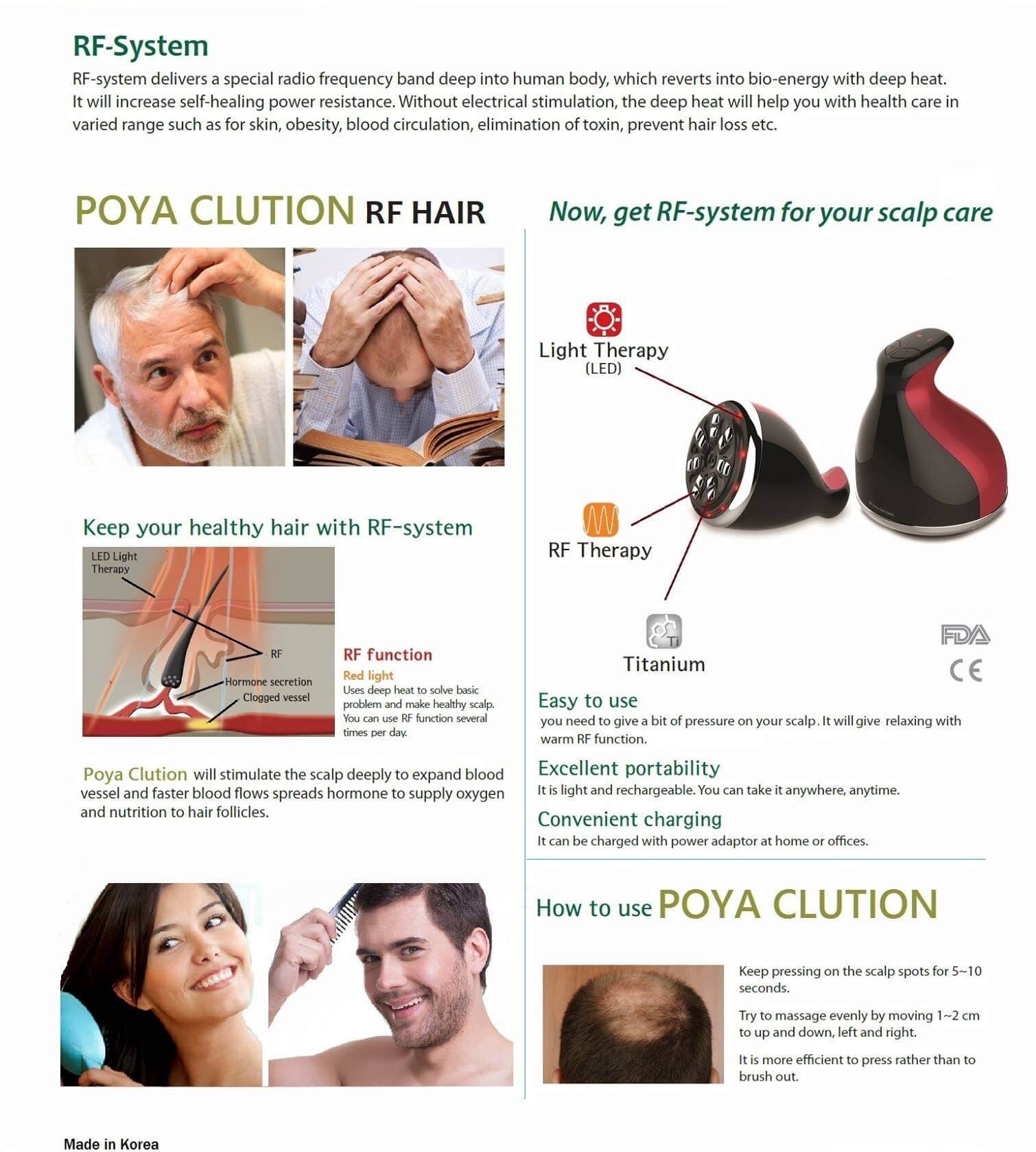 Poya Clution RF High-Frequency Massager 13