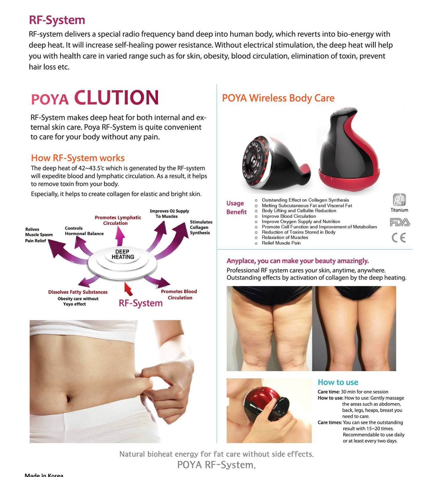 Poya Clution RF High-Frequency Massager 11