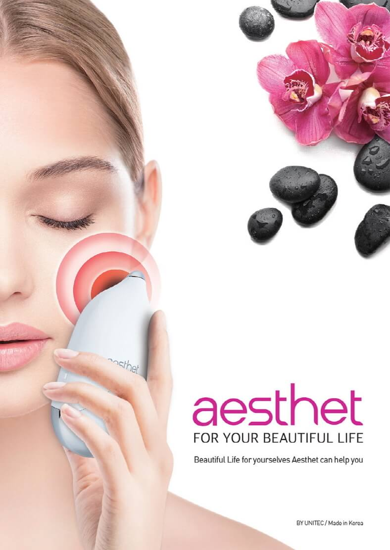 Aesthet Galvanic ION Korean Beauty Device 3