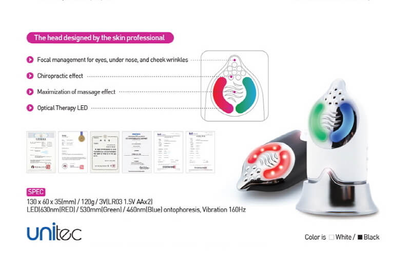 Aesthet Galvanic ION Korean Beauty Device 7