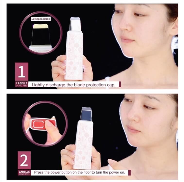 Labelle 5 Ultrasonic Skin Scrubber 3