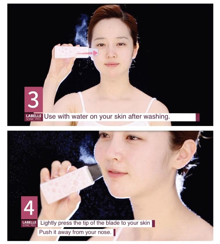 Labelle 5 Ultrasonic Skin Scrubber 4