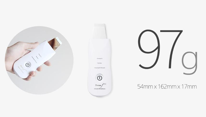 Derma F plus, 3 modes ultrasonic face scrubber 6