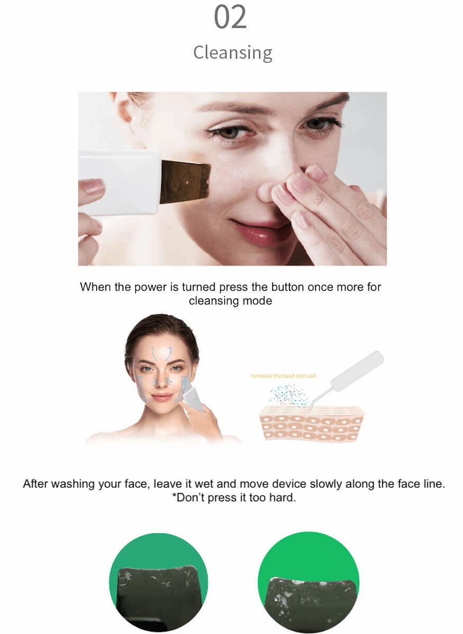 Derma W 24K Gold face spatula 5