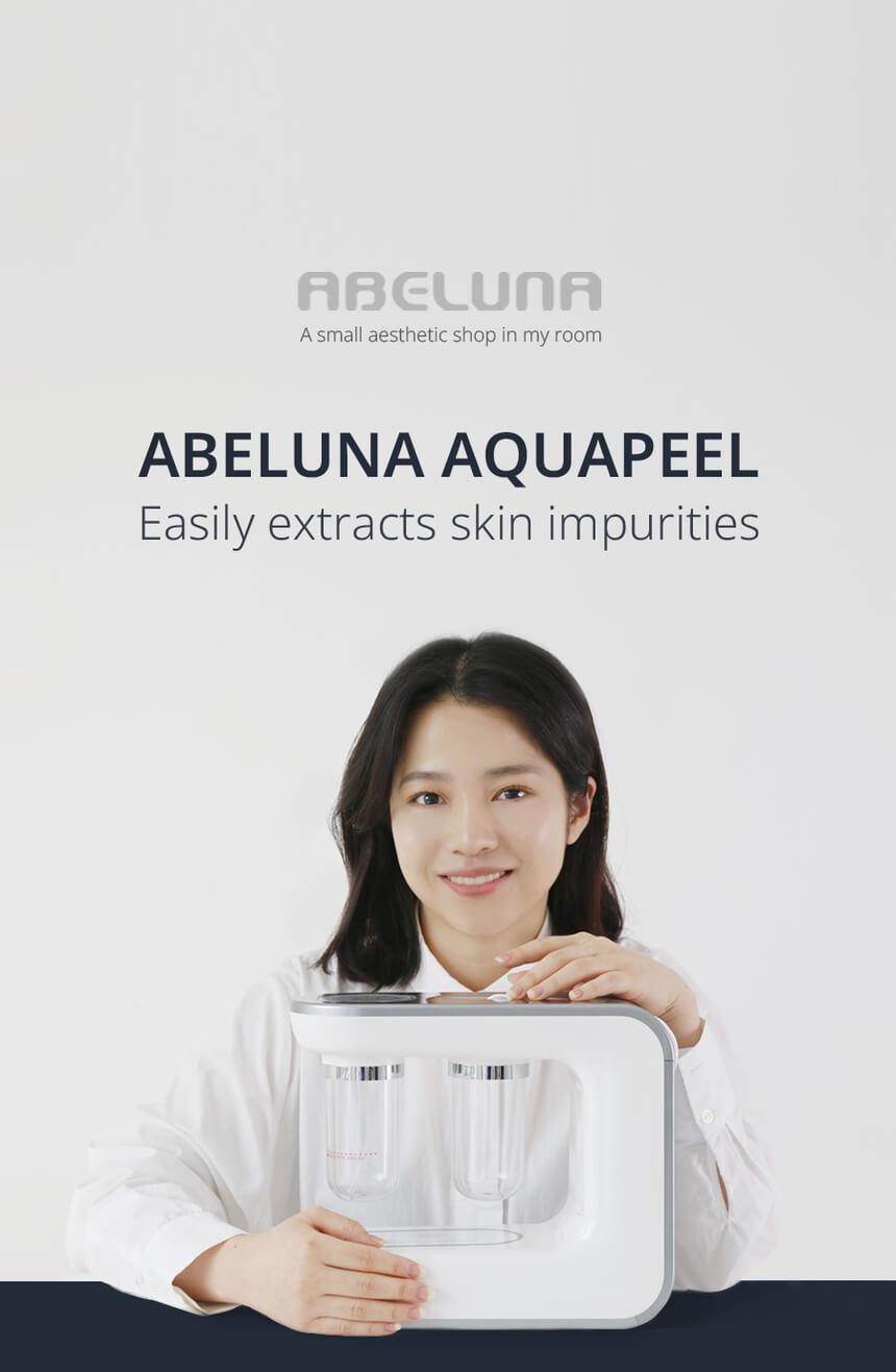 New Abeluna M-200 aqua-peeling machine 12