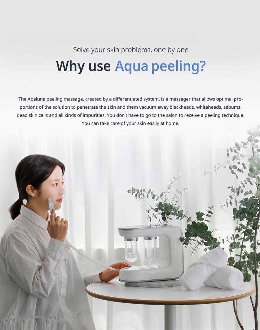 New Abeluna M-200 aqua-peeling machine 13