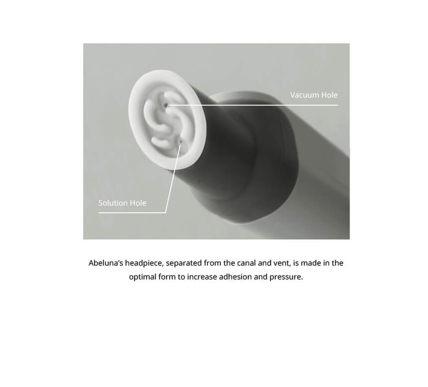 Abeluna handpiece head  M-100/M200 1