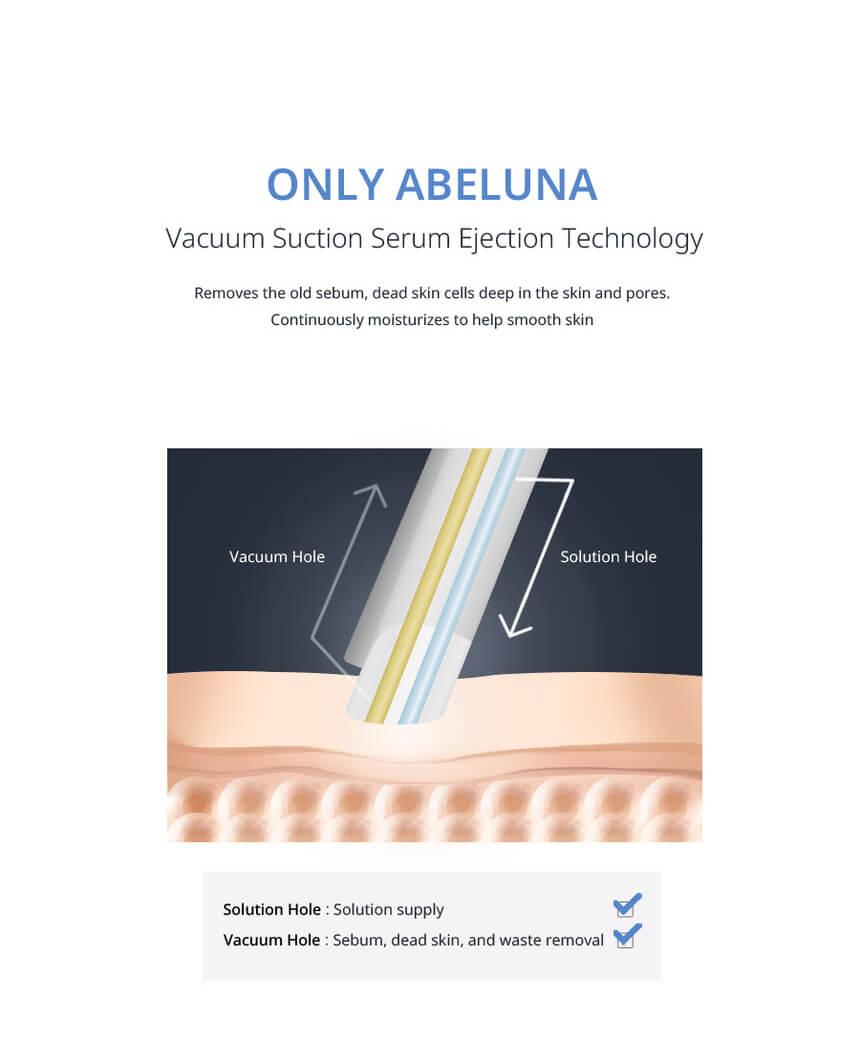 New Abeluna M-200 aqua-peeling machine 17