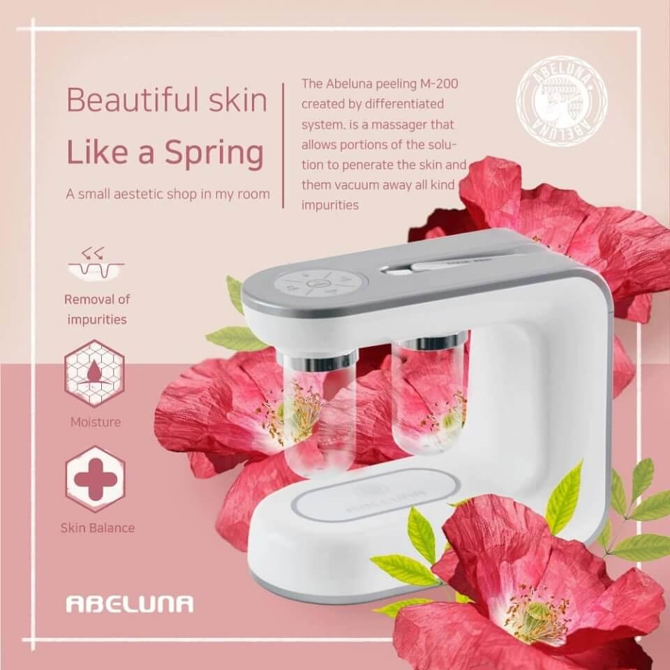 New Abeluna M-200 aqua-peeling machine 14
