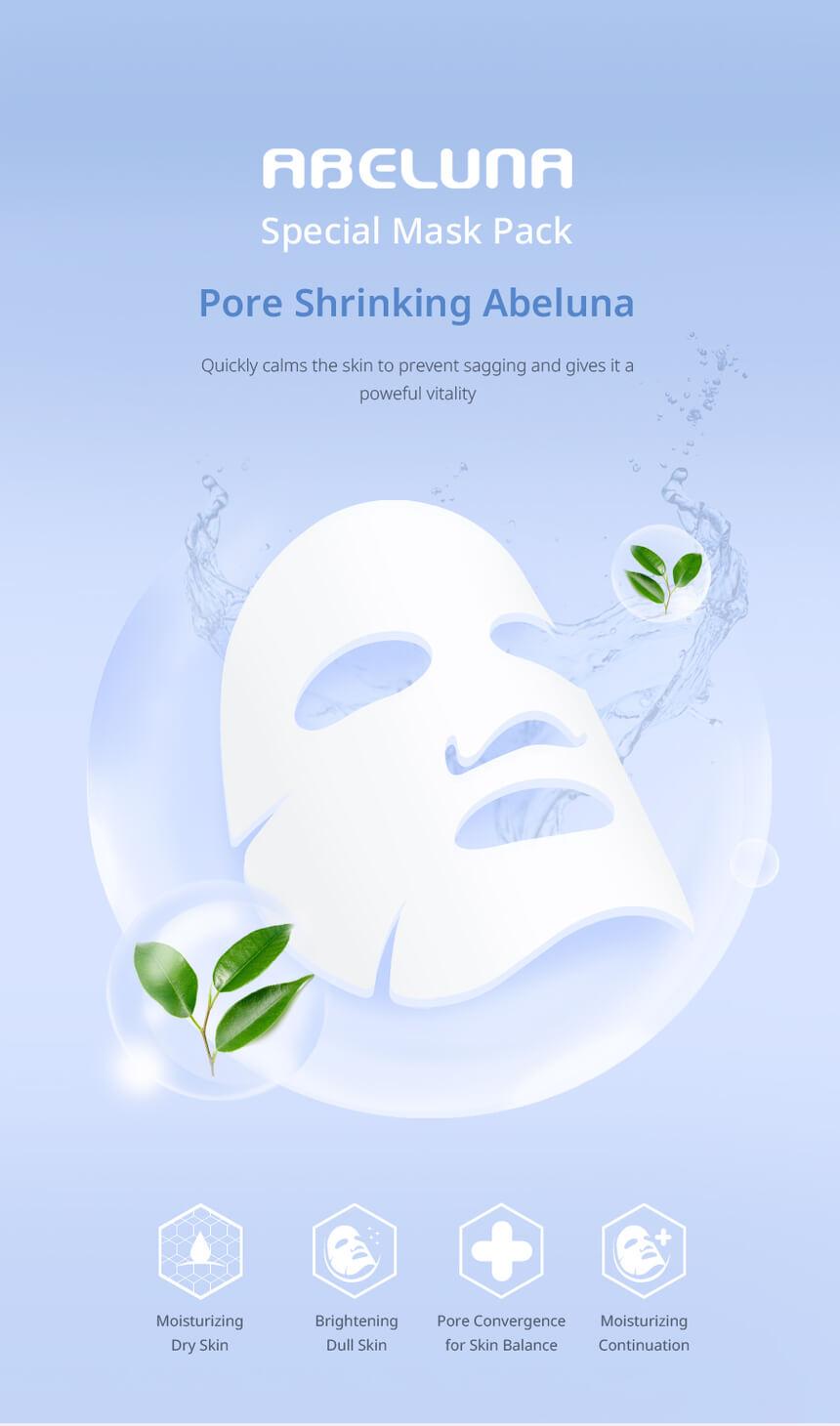 Abeluna aqua-peel mask packs, 10 to 100 1